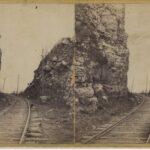LJTP 100.244 - S. Root - Railroad Rock Cut Dubuque - c1870