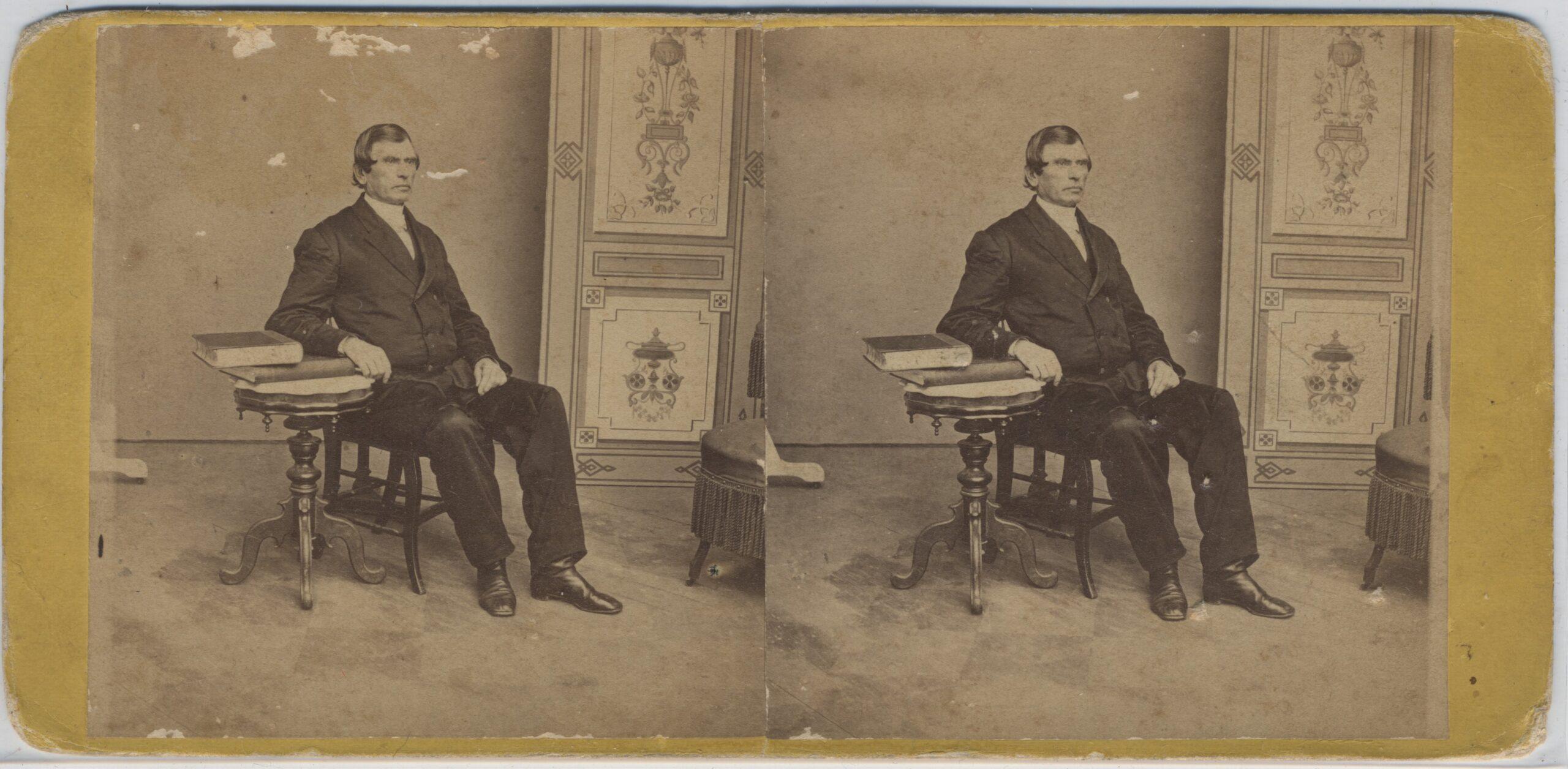 LJTP 100.249 - S. Root - Bishop Matthew Simpson - Sept 16 1868