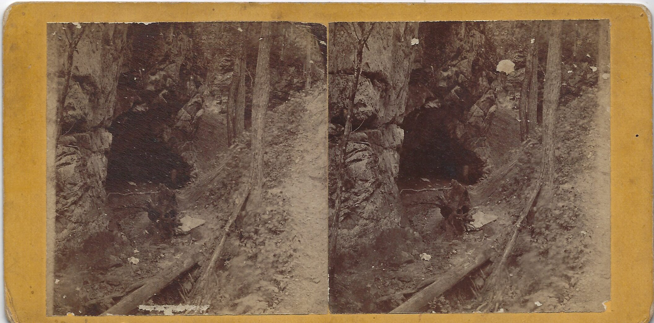 LJTP 100.261 - S. Root SAR - Picture Rock north of Dubuque - c1870