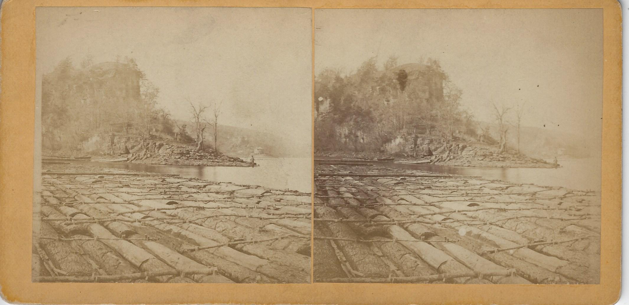 LJTP 100.271 - S. Root - Julien Dubuque Grave at Catfish Creek - c1875