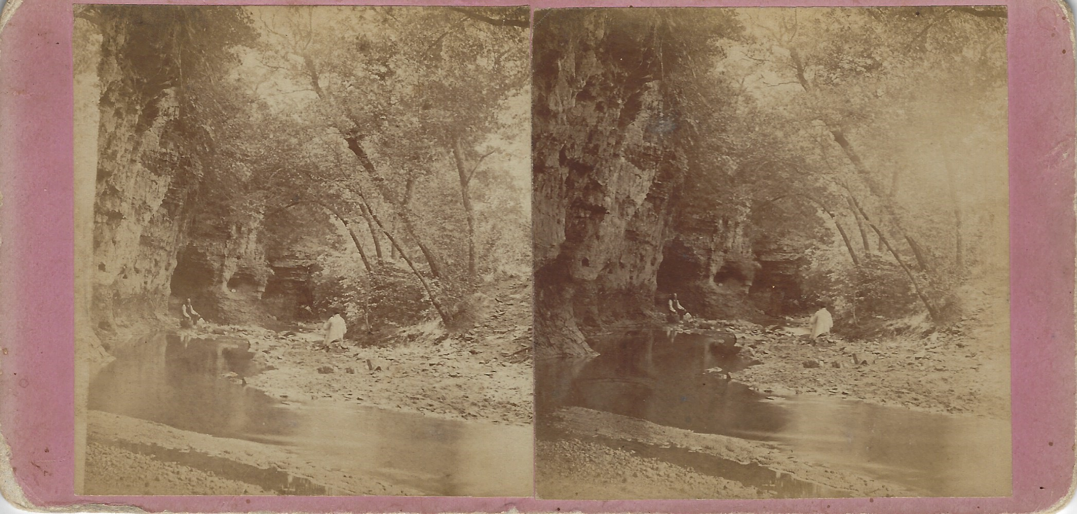 LJTP 100.273 - S. Root - On the Maquoketa River - c1875