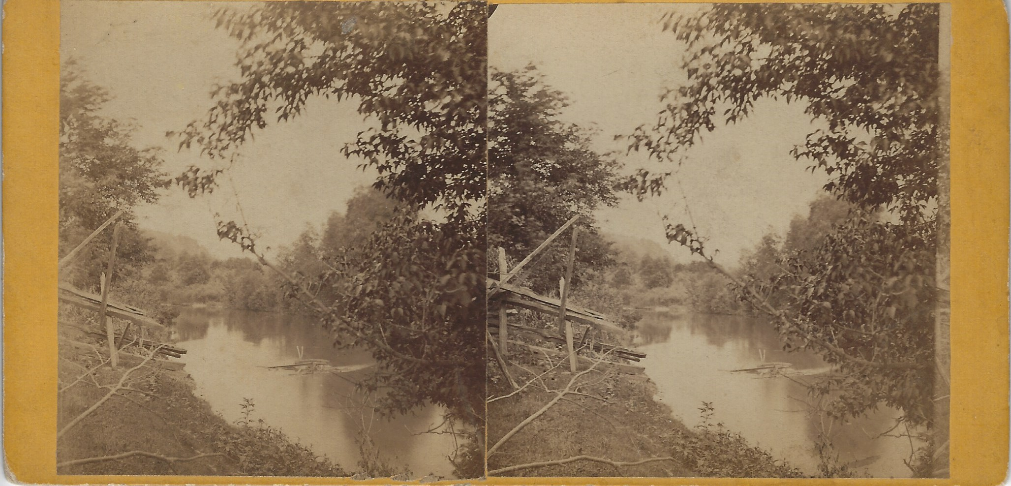 LJTP 100.275 - S. Root - Unknown River - c1875