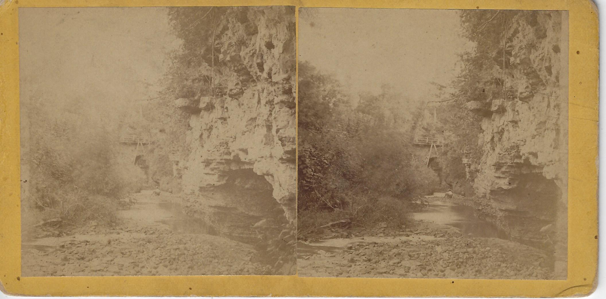LJTP 100.281 - S. Root IFS - Old Rock River Bridge - c1875