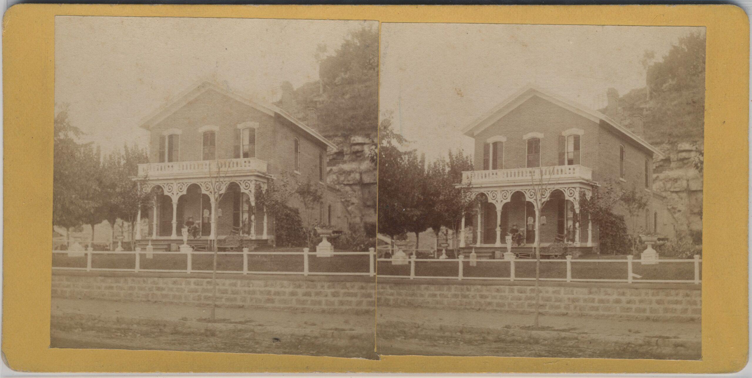 LJTP 100.287 - S. Root - Samuel Root Home - 1870
