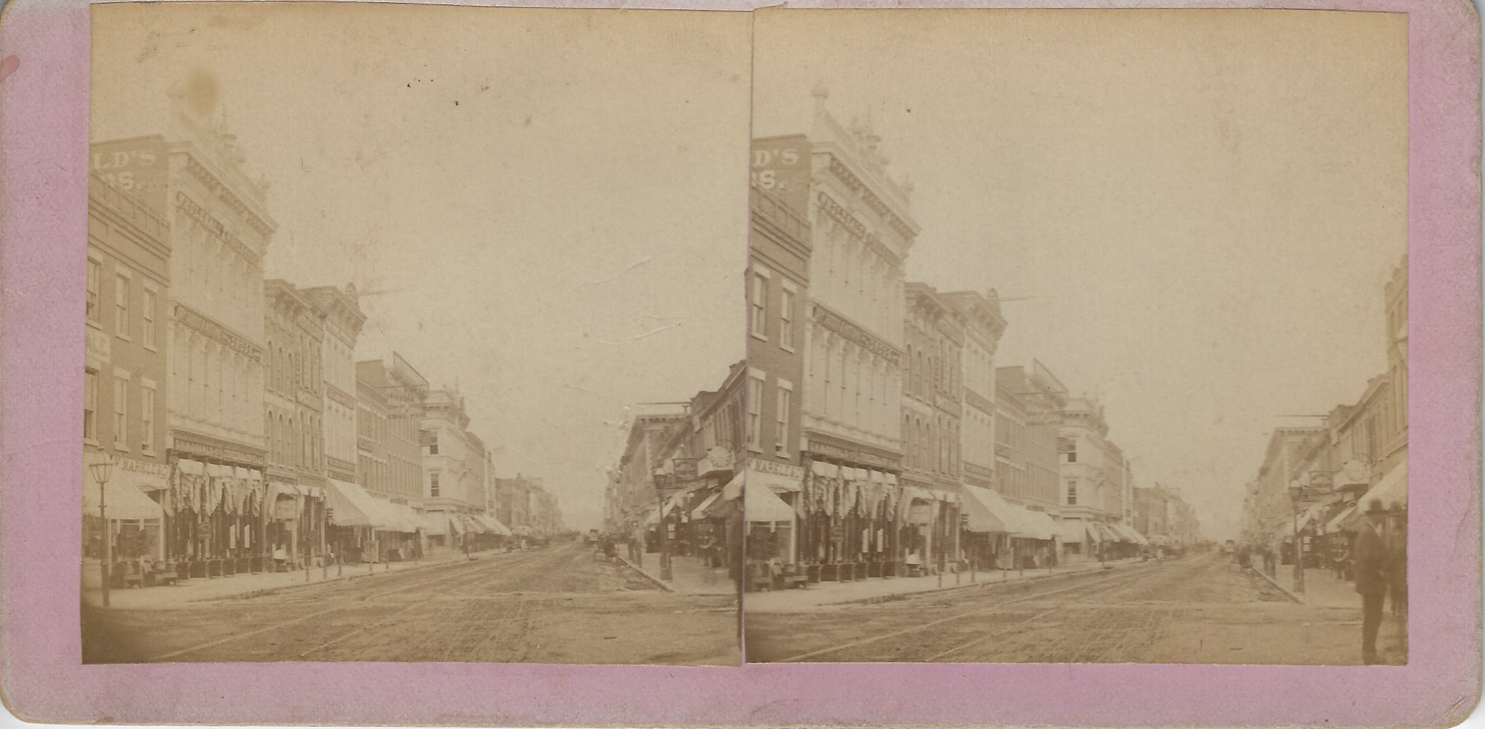 LJTP 100.293 - S. Root - 8th & Main St looking North - c1875