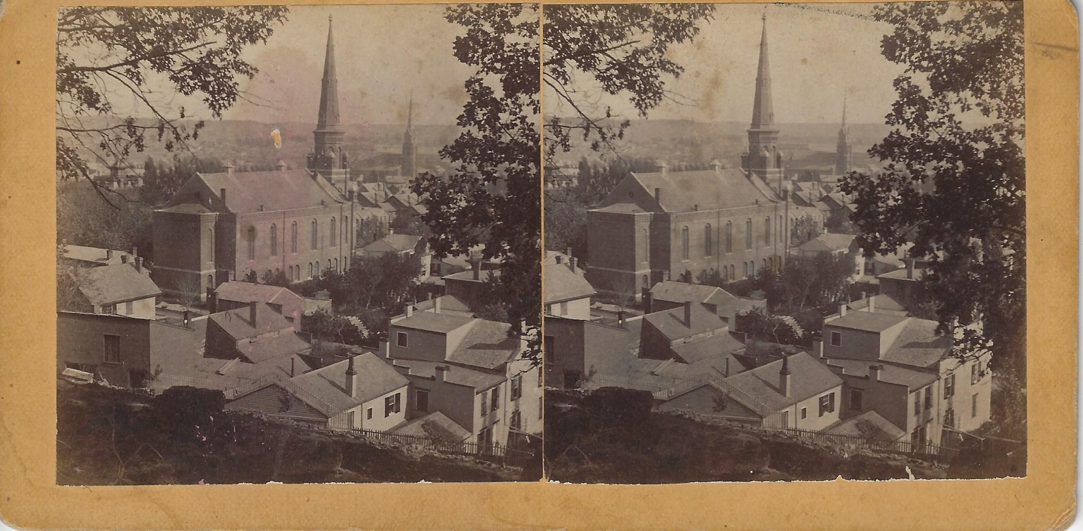 LJTP 100.301 - Westminster Presbyterian Church - 13th & Locust - c1880