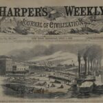 LJTP 100.339 - A. Simplot - Harper's Weekly - Levee at Memphis - July 1862