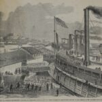 LJTP 100.344 - A. Simplot - Harper's Weekly - Embarkation at Cairo - Feb 1862