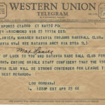 LJTP 200.053 - Max Lanier Batavia Ball Club - 1966